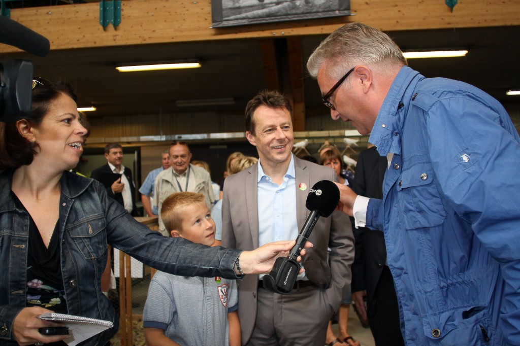 BELGIUM LIBRAMONT AGRICULTURE FAIR PRINCE LAURENT FAMILLY VISIT