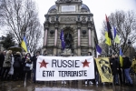 FRANCE : MANIFESTATION CONTRE LA RUSSIE A PARIS | ANTI RUSSIAN DEMONSTRATION IN PARIS
