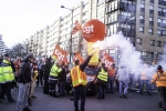 FRANCE : TROISIEME MANIFESTATION NATIONALE CONTRE LA REFORME DES RETRAITES LILLE | THIRD NATIONAL MANIFESTATION AGAINST PENSION