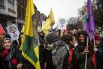 BELGIUM CHARLEROI : PROTESTATION ORGANISATION KURDE D'INCENDIE CRIMINEL | PROTEST ACTION CRIMINAL FIRE KURDISH ORGANISATION