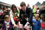 BELGIUM MONS INAUGURATION OF THE EXTENSION OF THE MUNICIPAL SCHOOL