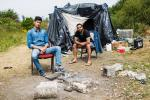 FRANCE CALAIS NEW JUNGLE CAMPS