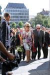 BELGIUM ROYALS KING ALBERT II AND QUEEN PAOLA VISIT LIEGE