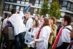 BELGIUM STRIKES AND DEMONSTRATIONS BY MEDICAL STUDENTS IN LIEGE (ULg)