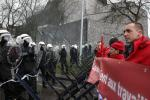 BELGIUM NAMUR ARCELORMITTAL WORKERS PROTEST