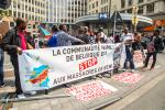 BELGIUM RASSEMBLEMENT POUR DENONCER LES MASSACRES A BENI EN RDC (CONGO)