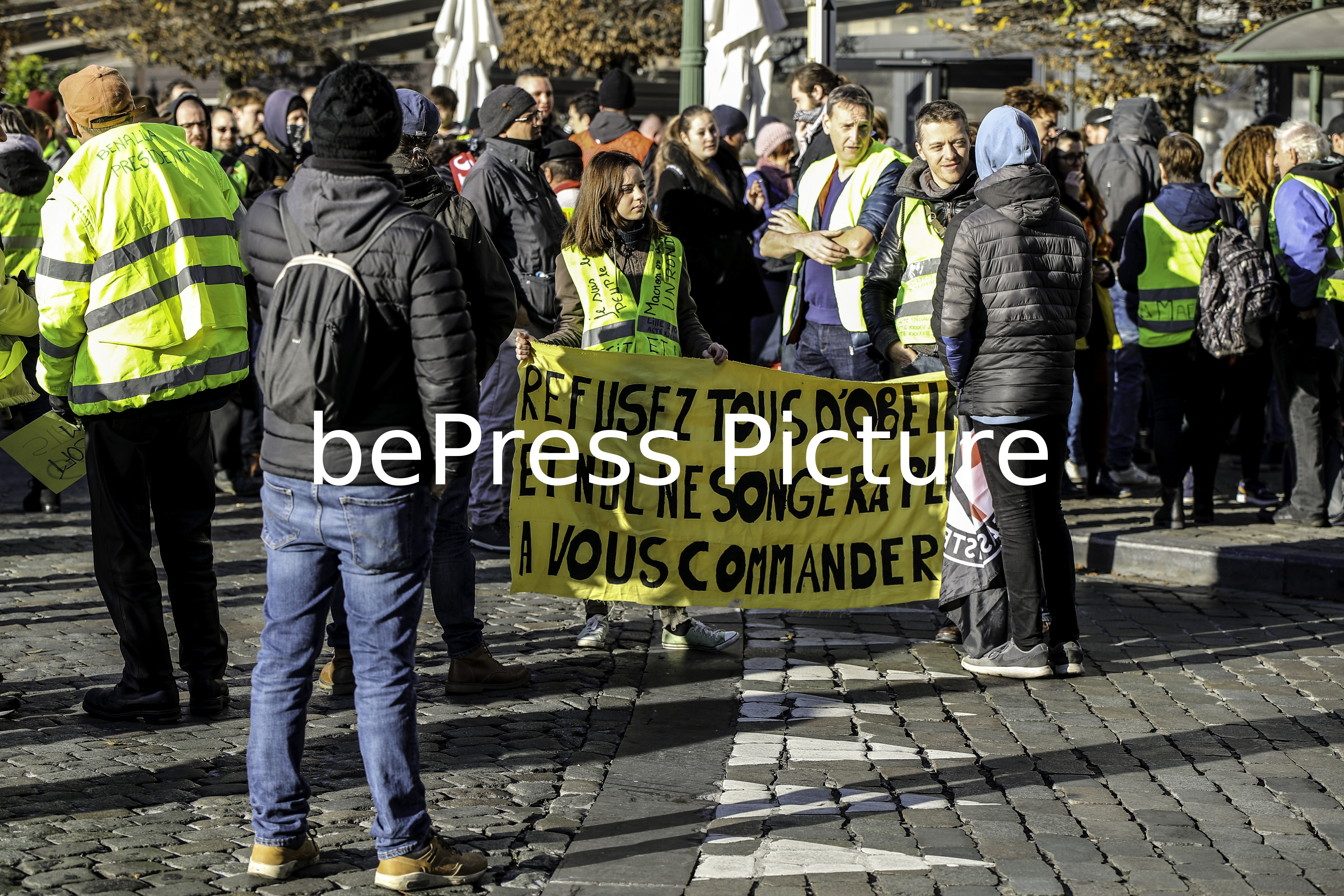 MANIFESTATION GILETS JAUNES ANNIVERSAIRE 1 AN BRUXELLES | MANIFESTATION YELLOW VESTS BIRTHDAY ONE YEAR BRUSSELS