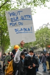 FRANCE : PARIS MANIFESTATION DE LA JOURNEE DES TRAVAILLEURS - WORKER'S DAY DEMONSTRATION